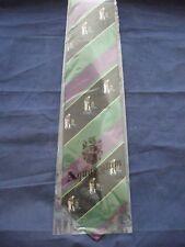 AQUASCUTUM Silk TIE new in damaged packet - Cricket motif