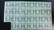 O) 1844 CARIBBEAN- -SPANISH ANTILLES, VARIOUS POSITIONS FOR CHANGE OF MOLD, QUEE