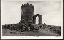 "Leicestershire Postcard - ""Old John"", Charnwood Forest  A2638"