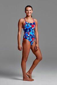 Block Rock Girls swimsuit from Funkita