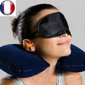 2 X Masque De Sommeil Nuit Relaxation Pour Yeux Anti Fatigue Voyage Dormir Neuf