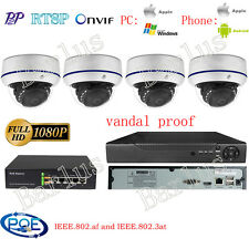 8CH NVR HD1080P Outdoor POE IP Camera Security CCTV Kit Camera System IP Network