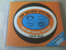 THE OUTHERE BROTHERS - LET ME HEAR YOU SAY OLE OLE - DANCE CD SINGLE