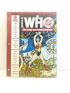 Who's Who In The DC Universe Loose Leaf Edition 4 DC 1990 NM