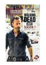 THE WALKING DEAD SEASON 7 TRADING CARDS HOBBY BOX (TOPPS 2017)