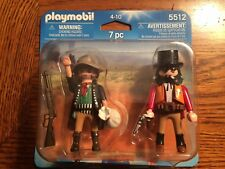 Playmobil 5512 Western Bandit and Sheriff Duo Pack New in Package!