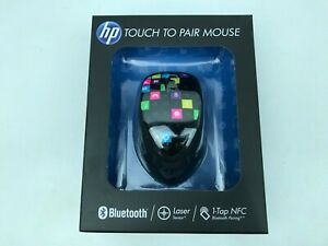 NEW HP H4R81AA 3-Button Bluetooth Wireless Laser Mouse Touch to Pair Sealed