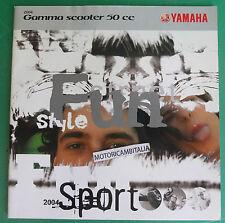 YAMAHA SCOOTER 2004 BWS AEROX NEO S WHY JOG DEPLIANT CATALOGO BROCHURE CATALOG