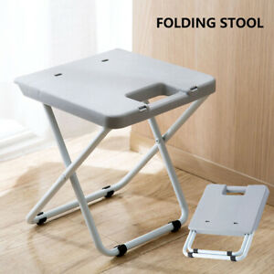 Folding Stool Multifunctional Portable Shower Chair Foldable Comfortable Space