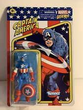 Marvel Legends Retro Kenner Captain America The Avengers 3.75? NEW unpunched