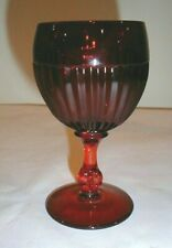 Paden City GLADES Goblet ruby red Beautiful!