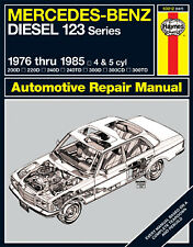 Repair Manual Haynes 63012 fits 76-85 Mercedes 300D