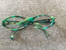 Jil Sander Vintage Brille Fassung Gestell Cooles 80er Jahre Mod.723 Grün TOP