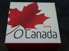 CANADA - 2013 $10 HOCKEY 99.99% SILVER COIN IN RCM BOX + COA