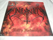 UNLEASHED -HELL'S UNLEASHED- AWESOME RARE LTD EDITION LP VINYL HAND NUMBERED 200