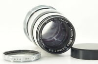 Canon 100mm F3.5 for Leica L39 LTM Mount [As-Is] from JAPAN