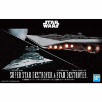 Bandai Star Wars 1/100000 Super Destroyer & 1/14500 Étoile Kit Neuf