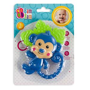 Giocattolo creativo per bambini neonato BamBam scimmietta sonaglio 2864