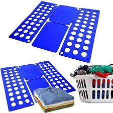 T-Shirt Clothes Folder Magic Fast Laundry Organizer Easy Folding Board 40X16CM