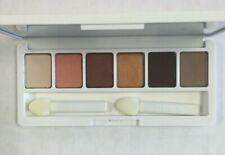 CLINIQUE 6 color Shadow Palette AJ BRONZE JAVA DUSK BLACK HONEY PEACH IVORY New