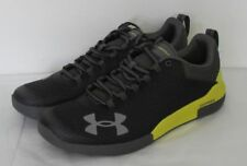 UNDER ARMOUR CHARGED LEGEND MEN'S SHOES SIZE 10.5 BLACK/LIME GREEN