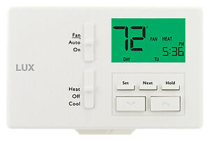 LUX TX100E Programmable Thermostat, Customizable Settings - Quantity 4