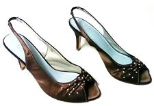 8 Size Women's Shoes Heels Pumps Unforgettable Moments brand Satin nice -321-