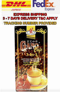 20 Boxes Gano Excel Cafe 3 in 1 Coffee Ganoderma Reishi Halal New DHL EXPRESS