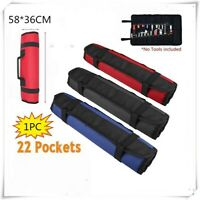 Roll Up Organizer Tool Bag Multipurpose Waterproof Storage Pouch Pocket One