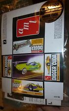 AMT HOBBY EXPO EXCLUSIVE AMT DIGGER 'CUDA BLUE! 1/25 Model Car Mountain kit fs
