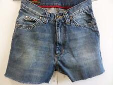 Vintage Lee Denim Casual Shorts Distressed Blue Size w26 L3 Grade B WB184