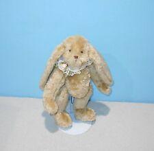 "11"" Ganz Cottage Collection Carole Kirby 1995 Tan Floppy Rabbit Stuffed Animal"