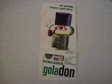 advertising Pubblicità 1966 CARAMELLE PERUGINA GOLA DON