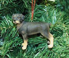 Rottweiler Dog Christmas Ornament