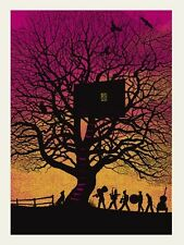 12 Dave Matthews Band TreeHouse 2010 Charlottesville Poster Methane Art Print