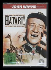 DVD HATARI - JOHN WAYNE + HARDY KRÜGER + RED BUTTONS *** NEU ***