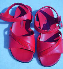 KidConnection Girls Red Sandals, Size 6