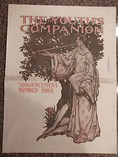 1903 The Youth's Companion Magazine COVER ONLY Arthur E. Becher Illustration