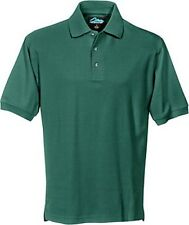 MEN'S 3 BUTTON, POLO SHIRT, MID-WEIGHT, SIDE VENTS, XS-5X 6X, TALL LT- 4T 5T 6T