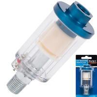 BlueSpot Air Line 1/4 BSP Mini Filter Moisture Water Trap Tool