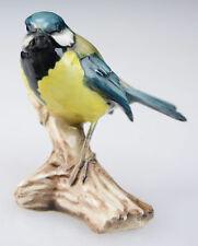 Tay Porcelain Giuseppe Tagliariol Italian Figurine Bird Chickadee – Signed L8A
