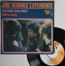 "Vinyle 45T Jimi Hendrix Experience  ""The wind cries Mary - Purple haze"""