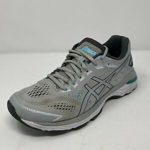 "ASICS Womens Size 8 Shoes ""GT-2000 7"" Gray Running Athletic 1012A147 EUC"