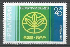 Bulgarie 1988 forum de la paix Yvert n° 3211 neuf ** 1er choix