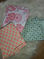 """New listing Lot Of Vintage Floral Novelty Print Fabrics, daisys mid mod , retro , 35"""" inch"""