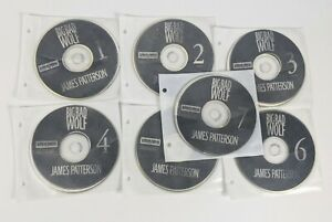 The Big Bad Wolf by James Patterson Audio Book on CD Disk Unabridged Novel Rare