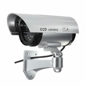 New CCTV Fake Security Surveillance Outdoor Indoor Waterproof Led Light Camera