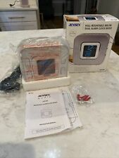 Jensen Wall Mountable Am/Fm Dual Alarm Clock Radio Jcr-266 New