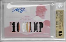 2012 Triple Threads Baseball Madison Bumgarner 7X Patch Auto White Whale # 1/1