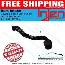 Injen Fits 06-11 Civic Si 2.0L Coupe & Sedan Black Short Ram Intake SP1577BLK